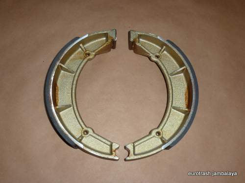 Moto Guzzi REAR Brake Shoe PAIR 1262-0800 700 750 850 Amb Eldo