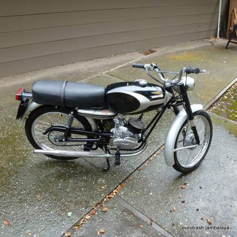 1964 Ducati 80 Falcon 2-stroke Survivor near NOS