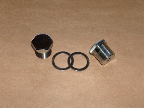 Norton 750 850 Commando Fork Nut Kit Stainless Steel
