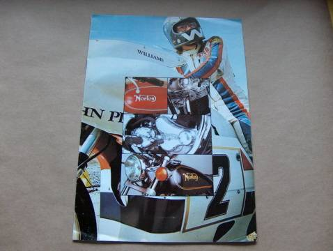 Norton Commando 750 850 Range Brochure Catalog NOS '74