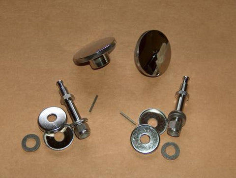 Norton 750 850 Commando Seat Knob / Shock Bolt Kit STAINLESS