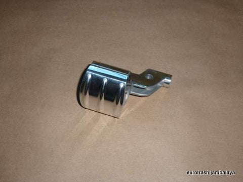 SWITCHLESS Handlebar Lever Perch Assy POLISHED Norton Triumph 650 750