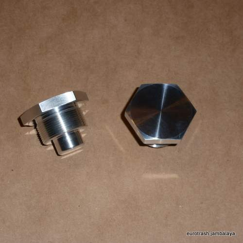 Triumph BSA 650 750 Fork Nut SET BILLET ALUMINUM '71-on