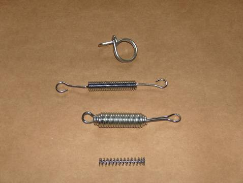 BSA 500 650 A50 A65 STAINLESS Spring Kit 1966