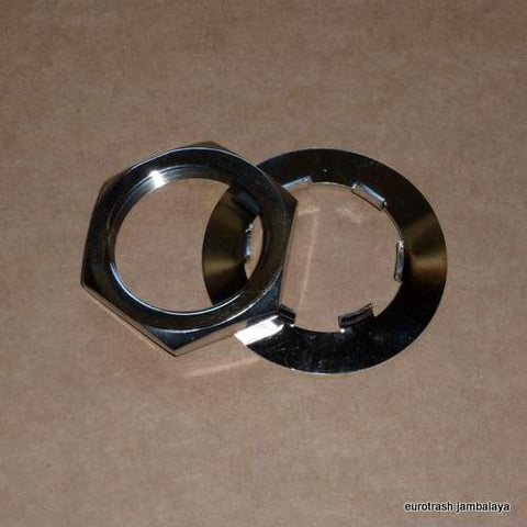 Triumph 5-speed Sprocket Nut/Tab Washer Kit STAINLESS 650 750