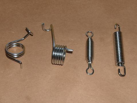 Triumph 500 Stainless Spring Kit 1969-73 t100 tr5