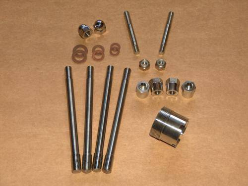 Triumph T20 Tiger Cub Cylinder / Head Hardware Kit STAINLESS