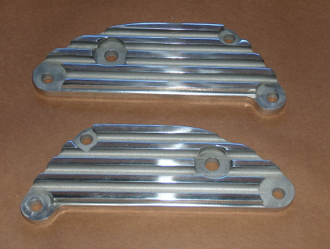 Triumph 500 650 CNC Billet Muffler Bracket Set chopper webco