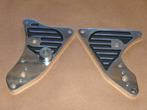 Triumph 650 CNC Billet Engine Mount Set chopper bobber