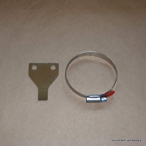 Norton 750 850 Commando Oil Filter Clamp SET STAINLESS