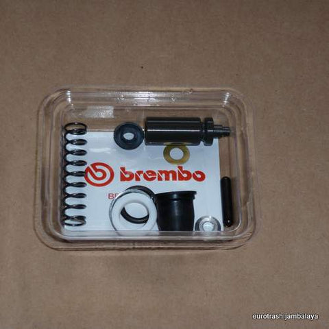 Brembo Rectangular Clutch 13mm Master Cylinder Rebuild Kit Ducati