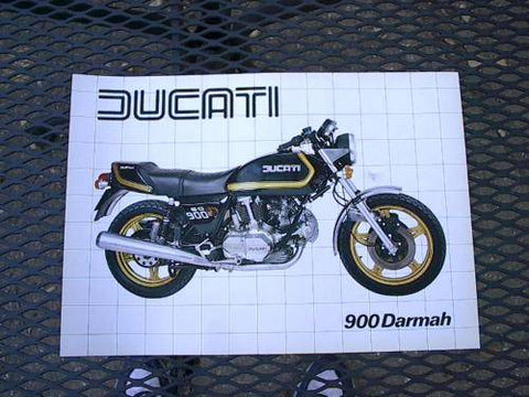 Ducati 900 Darmah Brochure perfect 900ss bevel ss