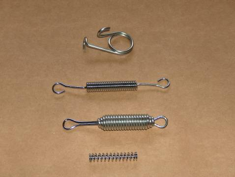 BSA 250 C15T Trials STAINLESS Spring Kit single