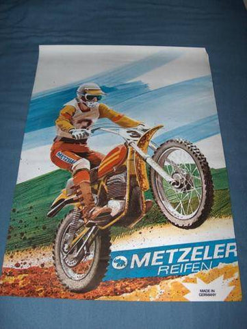 Penton KTM Poster by Metzler NOS a real beauty  ahrma