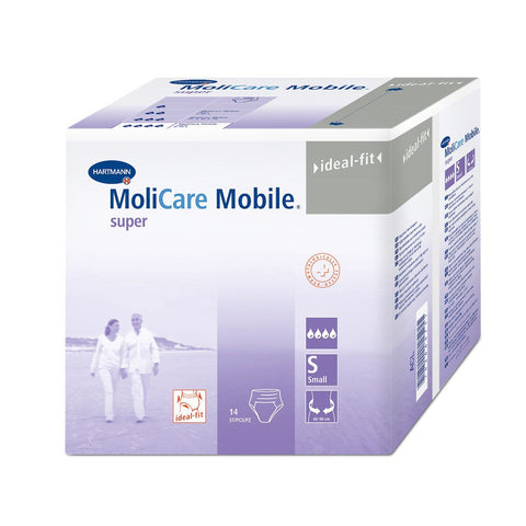 MoliCare Mobile SUPER Disposable Incontinence Pants, VALUE CARTON