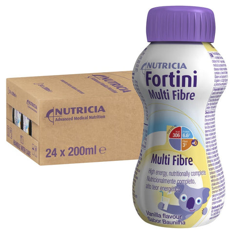 Fortini Multi Fibre 200ml Bottles | Carton of 24