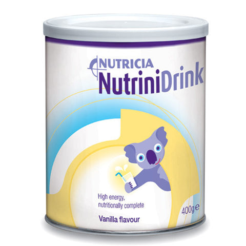 NutriniDrink Vanilla Powder 400g | Carton of 12