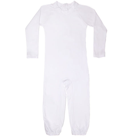 Kid's Long Sleeve Long Leg Body Suit, Onesie