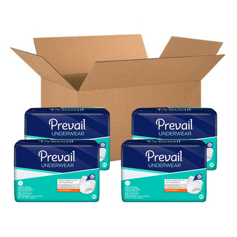 Prevail Disposable Incontinence Pull-On Underwear, VALUE CARTON