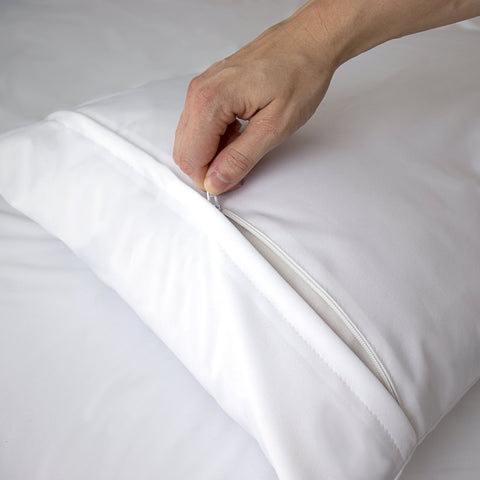 Waterproof Zip-Lock Anti Allergen Pillow Protector