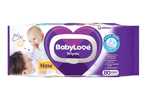 BabyLove Wipes (80 pack)