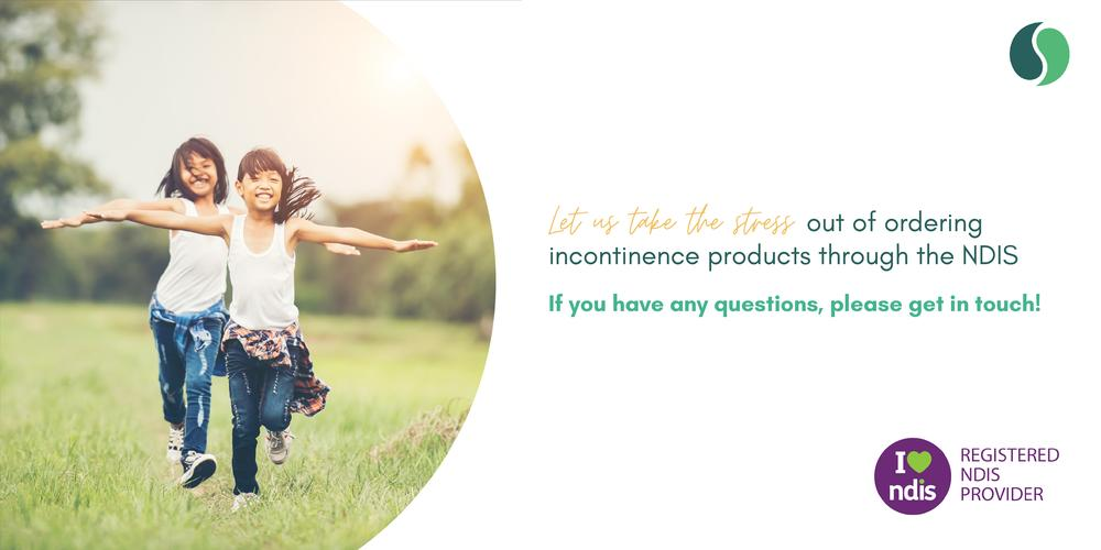 All of our incontinence products are available via the NDIS