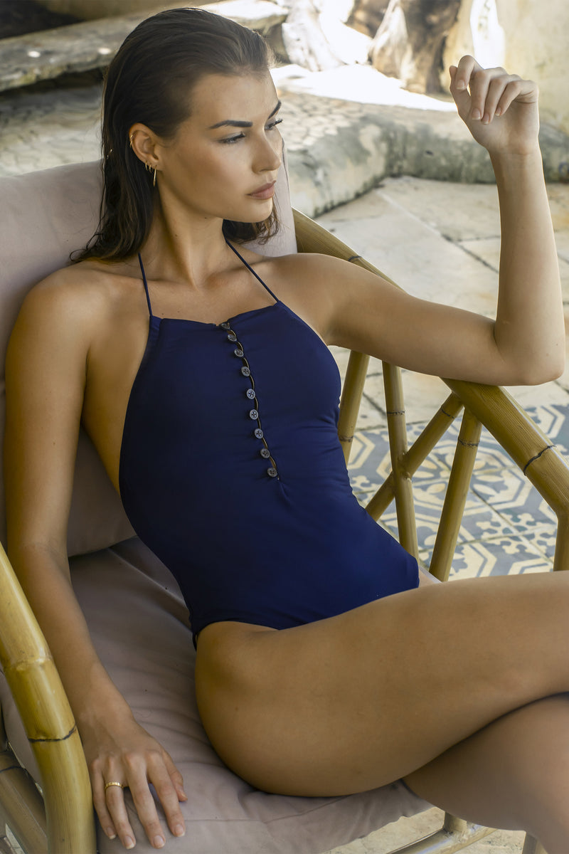 Diana One Piece - Deep Blue