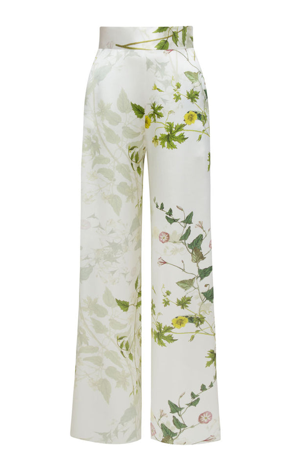 Ana Pants - Mint Floral