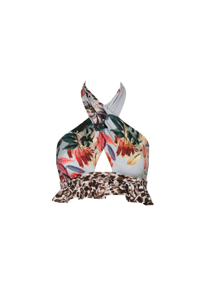 Debbie Top - Floral/Animal