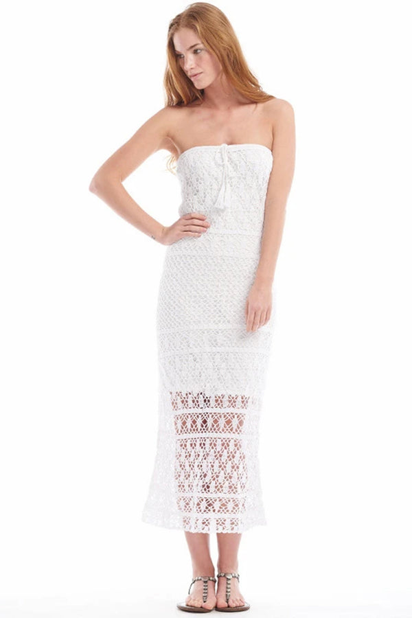 Mykonos Dress - White