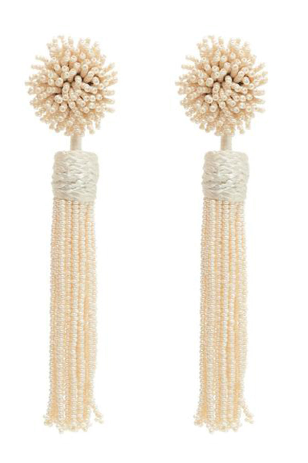 Lana Earrings - Ivory