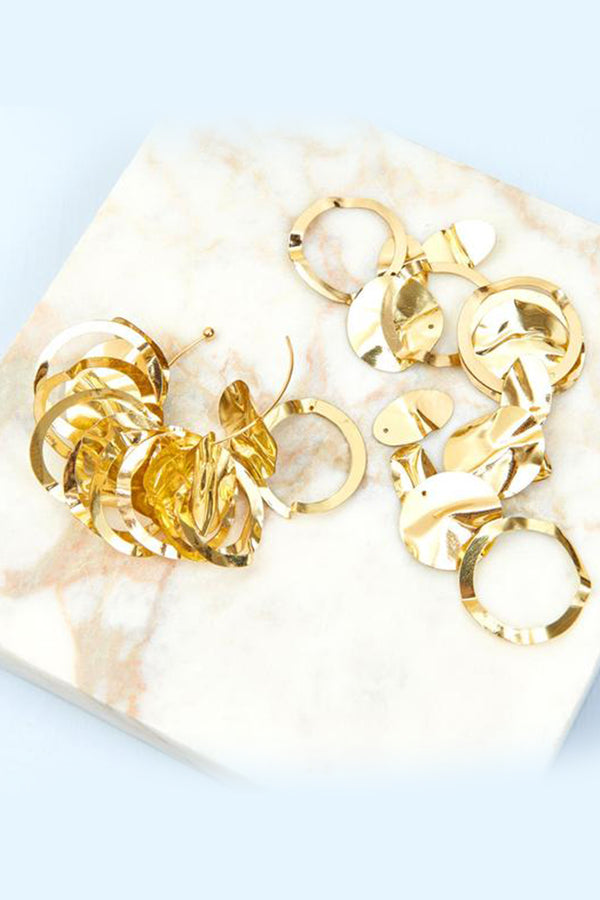 Mini Lola Hoops - Gold