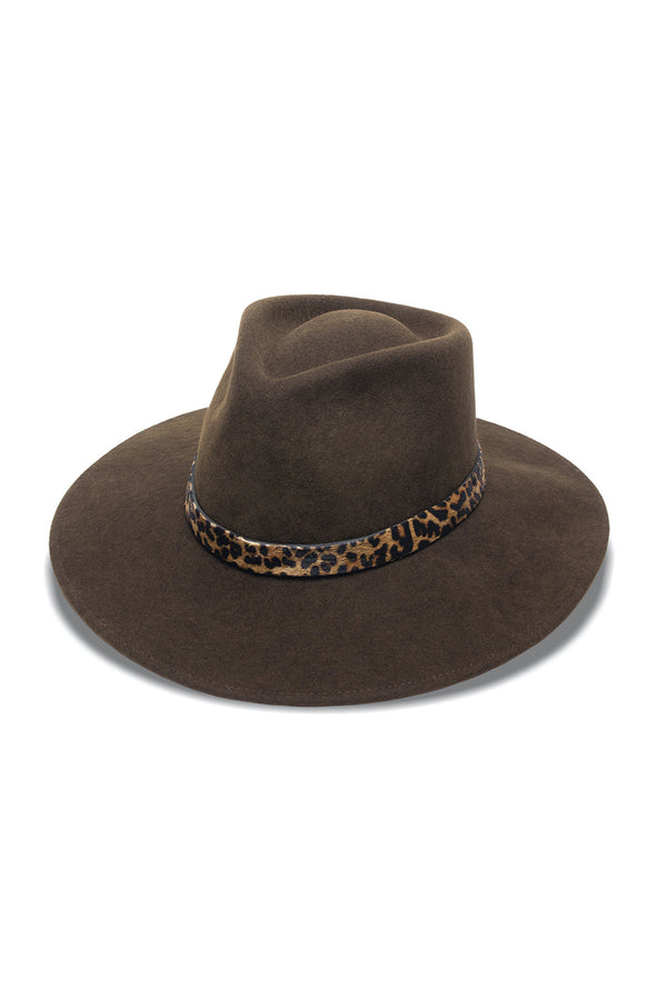 Sabi Hat - Brown/Leopard