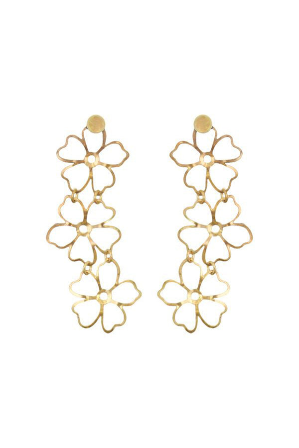 Mini Antheia Earrings - Gold