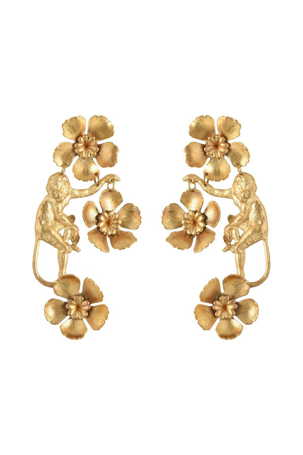 Vervet  Earrings - Gold