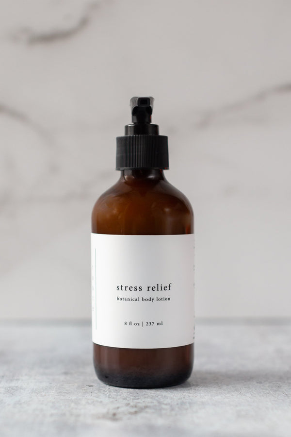 Botanical Body Lotion - Stress Relief