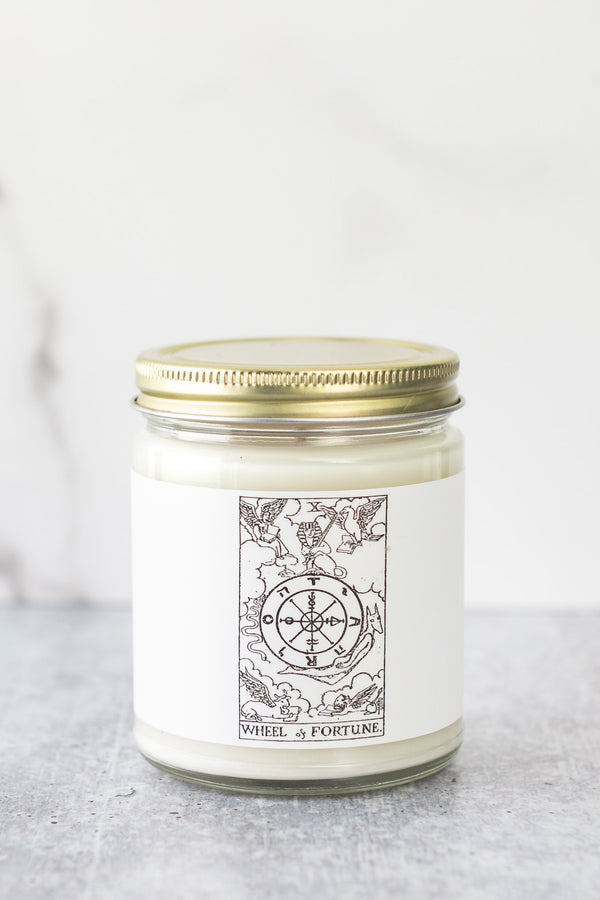 Tarot Collection - Wheel of Fortune Candle