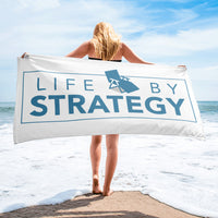 Life By Strategy Towel