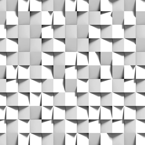 3d blocks, white and grey, grey and white, squares, geometrics, 3D wallpaper, three dimensional wallpaper,