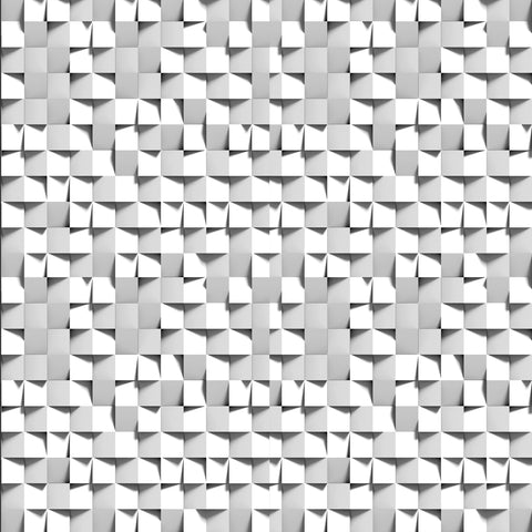 3D cubes, monotone, geometric, grays and white, pattern, modern wallpaper, new murals, new design,