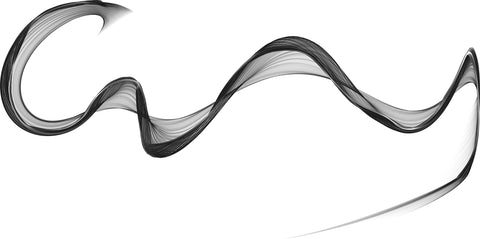 dance 02, black and white, black, white, swirl, modern art, white ground, dance ribbon, black and white,