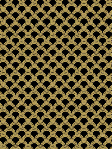 Como 4, large scale geometric, modern vintage, gold and black, modern new wallpaper, patterns,