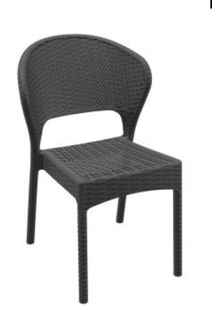 Daytona chair, wicker chair, outdoor chairs, outdoor furniture, restaurant chairs, cafe chairs, black chairs, dinning chair,