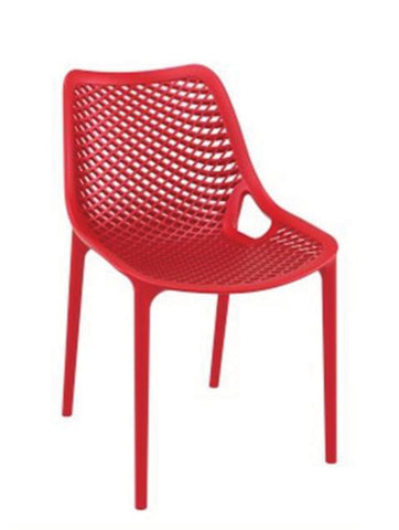 Flair Chair, red chair, outdoor chair,restaurant chairs, cafe style chairs, stackable chairs, function chairs, hotel chairs,