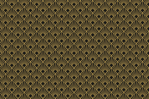 1920's, art deco, black and gold, black and gold geometric, Geometrics, large scale, roaring 20's, retro, vintage,