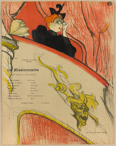 Le Missionnaire, Toulouse Lautrec, French Posters, Vintage frernch posters, Large scale posters,