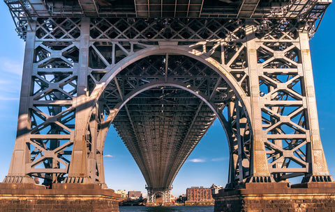 Manhattan bridge, bridges, New York, City, city bridges, architectural,construction,iron, building, street, urban,