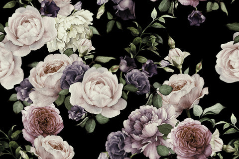 marilyns garden,large scale roses, large floral, as seen on TV, rose wallpaper, flower wallpaper,