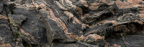 Canadian Shield, Rock, Rock face, Fold in the rock, grey rock, real rock, Canadian rock, rock formation,