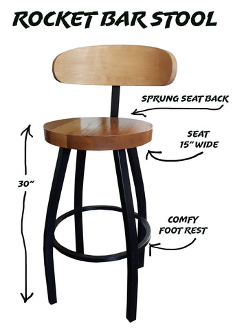 stool with a back rest, high stool, comfortable stools, restaurant stools, cafe stools, bar stools,